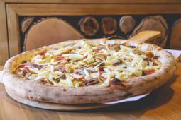 Pizza Smoked ham & cheese pork