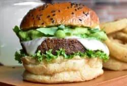 Hamburguesa veggie grill