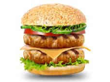 Двойной чикен чизбургер