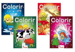 Livros De Colorir Colecao Ritinha Sort.