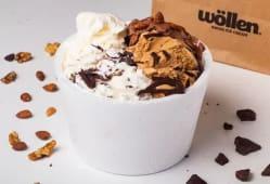 1 kg. de helado + 1/4 kg. de regalo!