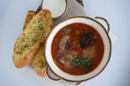 Пикантный суп с копченостями из мясного цеха (510 гр.)
