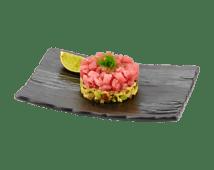 Тар тар c тунца на гуакамоле (160г)