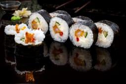 Ebi tempura roll