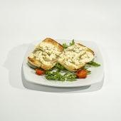 Pan de ajo con mozzarella (2uds)