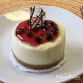 Cheesecake personal de saúco (8 cm.)