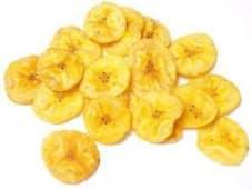 Chips banane - environ 250g par barquette