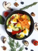 Салат з авокадо і яйцем (180г)