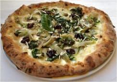 Pizza - Scarole, olive e capperi