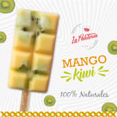 Paleta de mango kiwi