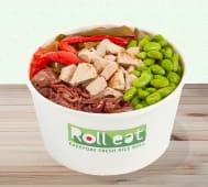 Hot vegan bowl
