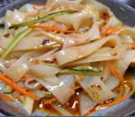 MT- Tagliatelle di riso alle verdure(cibo vegetariano)