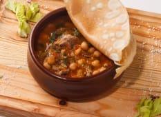 Sopa de Grão de Bico Putukh