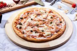 Pizza somon-fumme mare