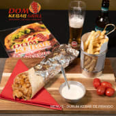Menu 5 - Durum-Wrap Kebab de Frango