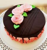 Tort ciocolata si zmeura