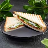 Сендвіч з лососем та сиром філадельфія (1шт)