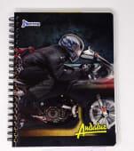 Cuaderno Espiral A4 200Hjs Cuadros Economico Andaluz