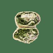 Wrap hummus tahini
