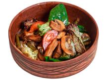 Теплий салат з індичкою (220г)
