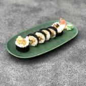 41). Asparagus to foie no futomaki (6 uds.)