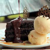 Torta de chocolate trufada (8 porciones)