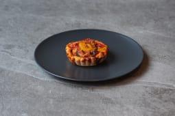 Tartaletka z kiełbasą chorizo / Tartlet with chorizo