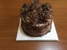 შოკოლადის ტორტი, საშუალო
