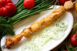 Шашлык из куриного филе (200г)