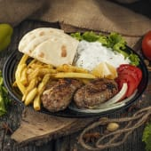 Grilled Beefsteak with Cheese