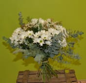Bouquet clásico de margaritas amarillas