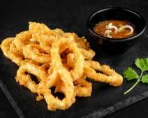 Inele de calamari tempura