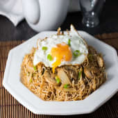 Noodle with Eggs