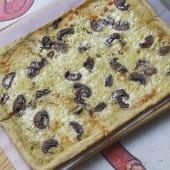 Pizza al ajo