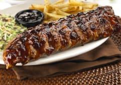 Fridays signature glazed ribs 750g