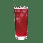Iced Shaken Hibiscus Infusion & Lemonade