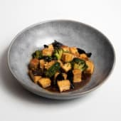 Tofu Salteado con Broccoli - China