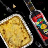 Lasagna cu carnita de pui&vin Castel Mimi Animaliens