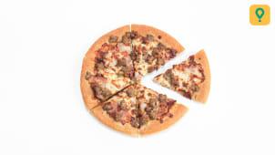 Pizza BBQ festin de viande