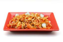 №265 Удон з морепродуктами в устричному соусі (220г)