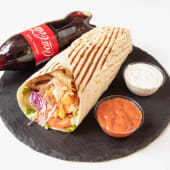 Kebab Regular Wrap + Coca Cola