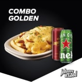 Golden age potato + 2 cervezas