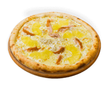 Піца куряча з ананасами