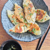 Dumplings De Veggies (12 Uds.) Con Salsa Soy-Vinegar
