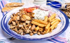 Piatto Gyros large