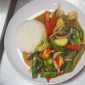 Pad Pak Tofu