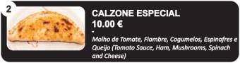 Calzone Especial