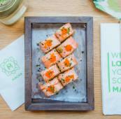 Super salmon roll