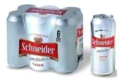 Schneider rubia (6 uds)