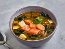 Мисо суп с лососем 300 г.